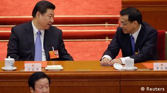 China Nationaler Volkskongress 2013 Xi Jinping & Li Keqiang