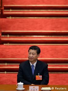 China Nationaler Volkskongress 2013 Xi Jinping