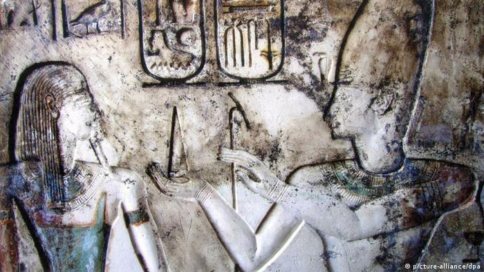 Ägypten Sinai Archäologie Ausgrabung Fort (picture-alliance/dpa)