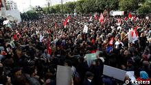 Demonstrationen in Tunis am 16.03.2013
