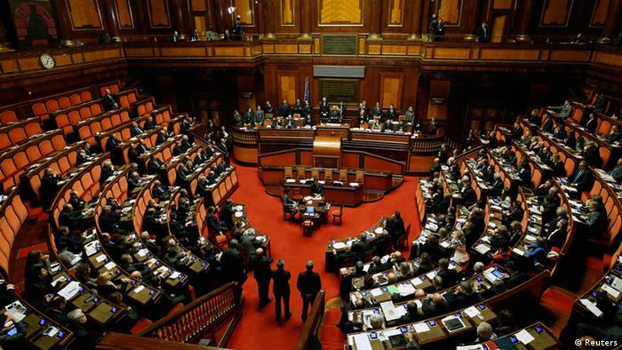 Italian Senate (photo: REUTERS/Remo Casilli)