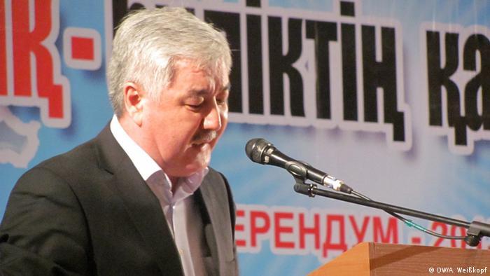 Amirzhan Kosanov (DW/A. Weißkopf)