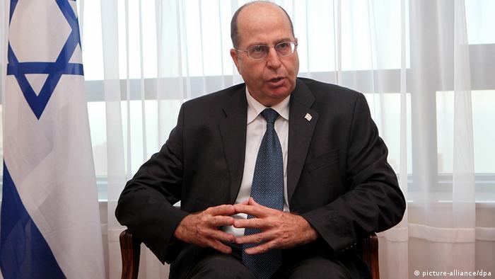 Israels Verteidigungsminister Mosche Jaalon - Foto: EPA/IVAN FRANCO +++(c) dpa - Bildfunk