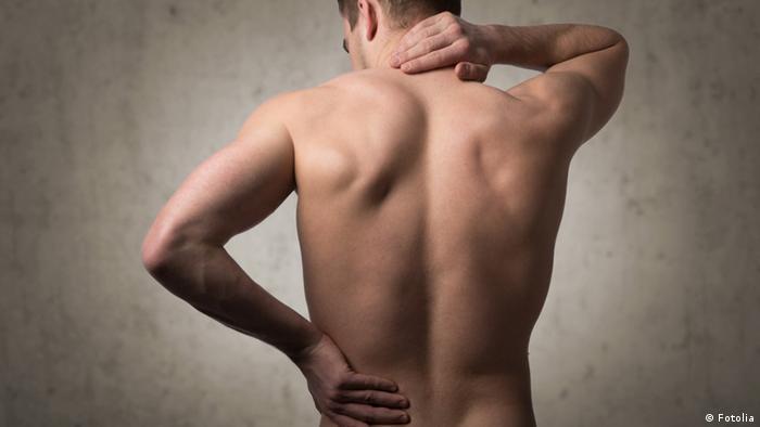 Symbolbild Rückenschmerzen