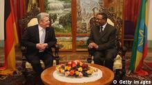 Joachim Gauck besucht Äthiopiens Premier Hailemariam Desalegn