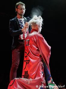 Deutschland Messe Top Hair International Düsseldorf Top Stylist Dmitri Vinokurov
