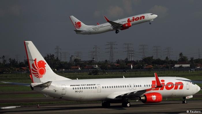 Fluggesellschaft Lion Air Indonesien (Reuters)