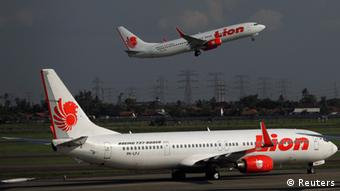 Fluggesellschaft Lion Air Indonesien