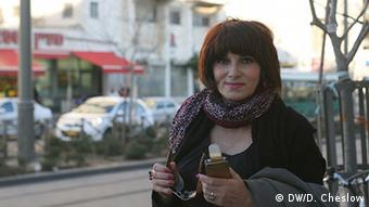 Russian-Israeli Angelica Anto says Obama has not been firm enough on Iran. Copyright: Daniella Cheslow, DW mitarbeiterin, Jerusalem, March 2013