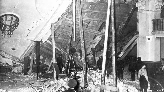 Deutschland Geschichte Johann Georg Elser Bombenattentat auf Hitler 1939 (ullstein bild)