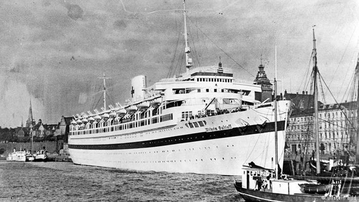 Deutschland Geschichte zweiter Weltkrieg Wilhelm Gustloff als Lazarettschiff