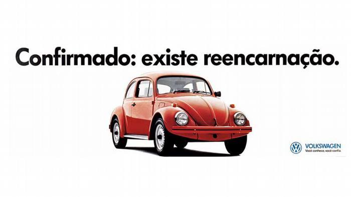Werbung VW Fusca in Brasilien 1993
