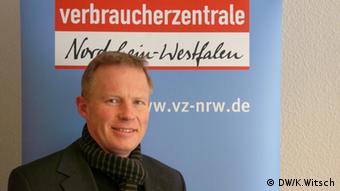 Udo Sieverding from the NRW consumer association.