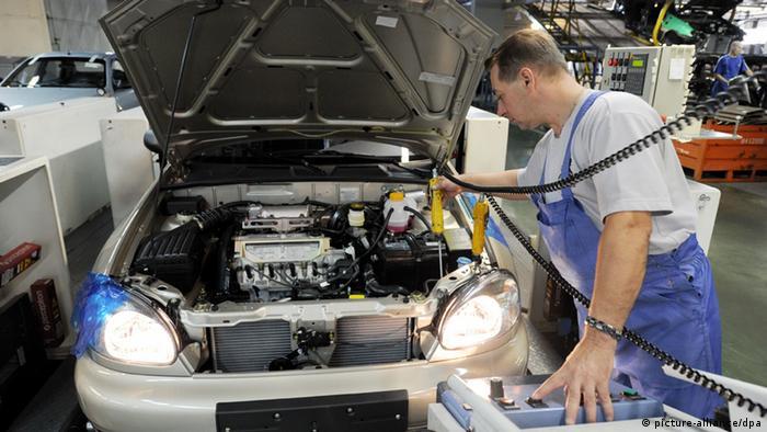 Autoproduktion in der Ukraine