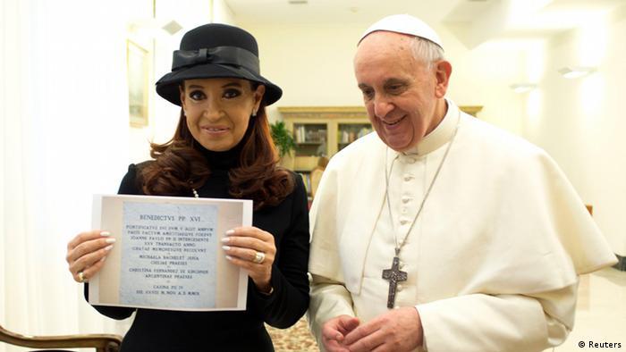 Pope Francis, Kirchner