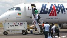 Luftverkehr Mosambik