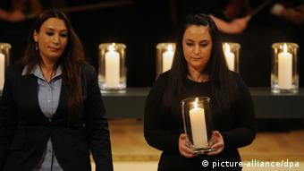 Berlin memorial service for the victims, 2012 Photo: Hannibal dpa/lbn)