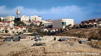 Израильское поселение на Западном берегу реки Иордан