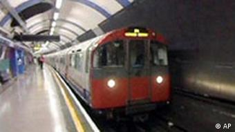 Piccadilly Line in London