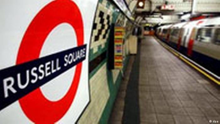 Russell Square in London nach Anschlägen wieder geöffnet (dpa)
