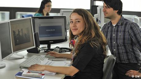 Online-Redaktion Brasilianisch: Nádia Pontes und Rafael Oliveira Göpfert