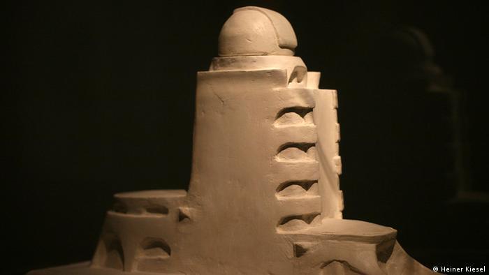 Erich Mendelssohn's model of the Einstein Tower built between 1919 and 1921 in Potsdam