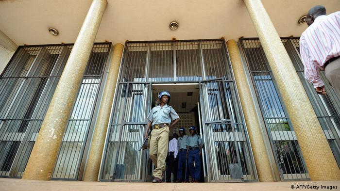 Harare Magistrate's Court Photo: ALEXANDER JOE/AFP/Getty Images