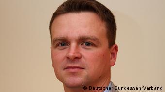 Przewodniczący Związku Żołnierzy Bundeswehry Andre Wuestner