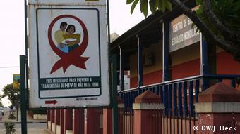 Centro de Saúde Eduardo Mondlane - Gesundheitszentrum Chimoio