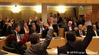 Zypern Parlament lehnt Zwangsabgabe ab 19.03.2013