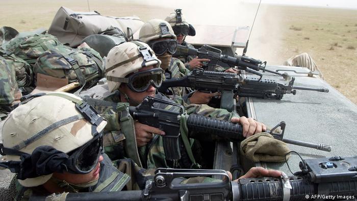 Soldados élite estadounidenses en Irak. (Archivo)