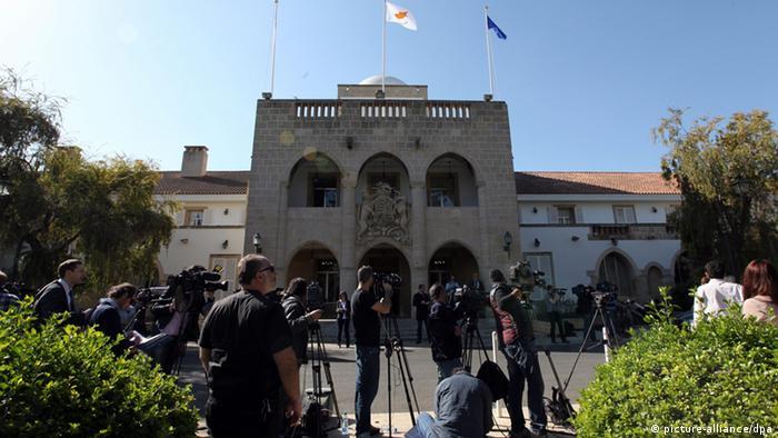 Zypern Nikosia Präsidentenpalast