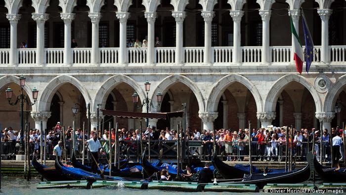 Venedig Markusplatz, Foto: Olivier Morin/AFP/Getty Images