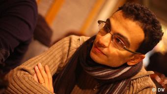 Nael Eltoukhy, ägyptischer Autor und Übersetzer Bild: DW Zugieliefert von Hebatallah Ismail Hafez, DW