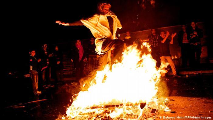 جشن جهارشنبهسوری در ایران