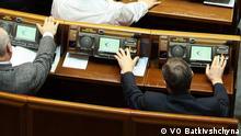 Ukraine Abstimmung in Parlament in Kiew Hennadiy Vasilyev