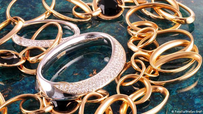 Schmuck Gold Ring Ringe Diamanten