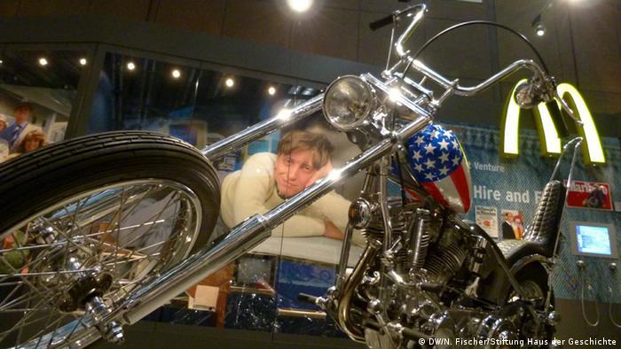 The American Way Die USA in Deutschland Ausstellung Haus der Geschichte Bonn Harley Davidson Captain America