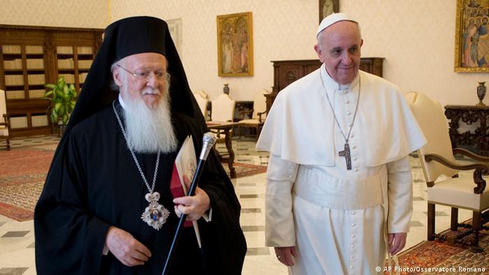 Bartolomej I u posjeti kod Pape Franje