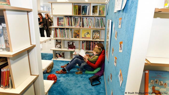 Детский отдел штутгартской городской библиотеки