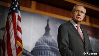 US-Senat Harry Reid Demokrat Haushaltstreit