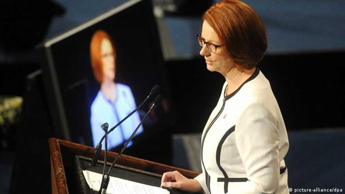 Julia Gillard Premierministerin Vertrauensfrage Parlament