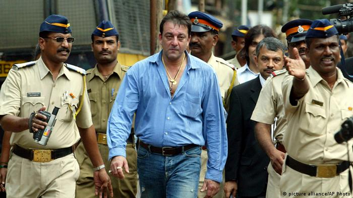 Indien Sanjay Dutt Schauspieler Archivbild 2006 (picture alliance/AP Photo)