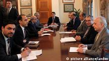 Zypern Krisengespräche beim Präsidenten Anastasiades 20.03.2013