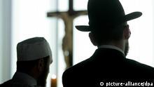 Symbolbild Islam und Judentum