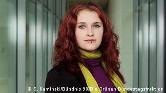 Deutschland Bundestag die Grünen Agnieszka Brugger