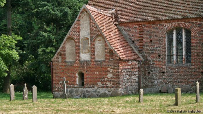 Церковь Святого Иоанна (St. Johanneskirche) в деревне Цирков (Zirkow) на острове Рюген (Rügen). Фото: DW / Максим Нелюбин