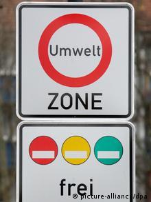 Дорожній знак Екологічна зона у Німеччині