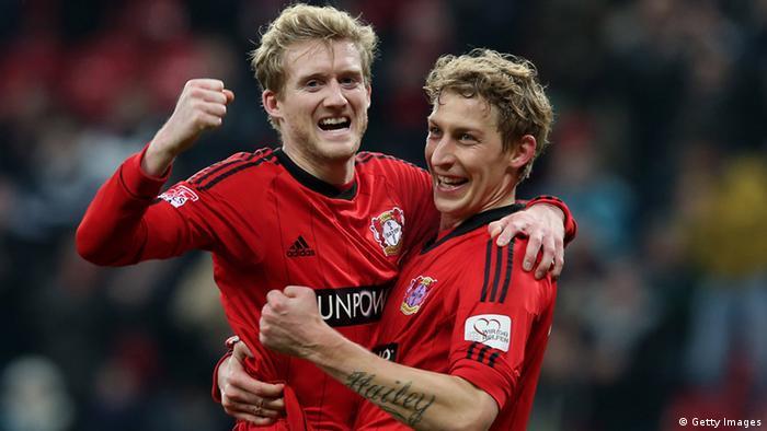 Bayer 04 Leverkusen Andre Schürrle und Stefan Kiessling