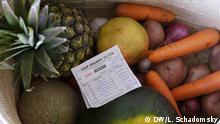 Un panier de l'entreprise Shop Organic